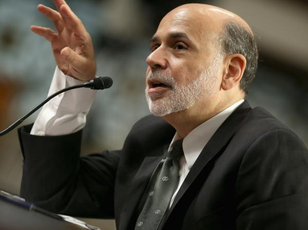 Federal Reserve Board Chairman Ben Bernanke testifies before the Senate Banking, Housing and Urban Affairs Committee on Capitol Hill July 17 in Washington, D.C.