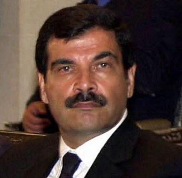 A June 2000 photo of Deputy Defense Minister Assef Shawkat.