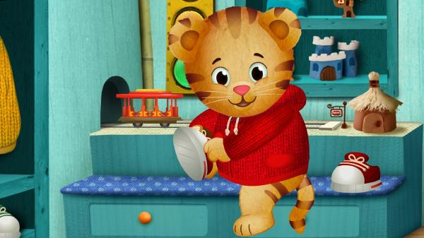 Daniel Tiger of <em>Daniel Tiger's Neighborhood</em>, coming soon to PBS.
