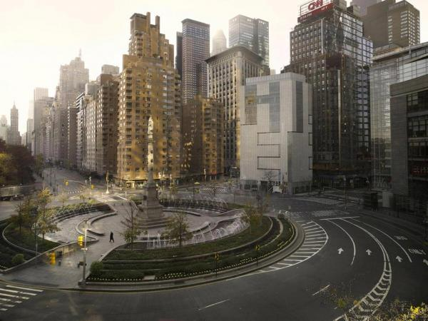 Columbus Circle, New York City, 2009<br /><em></em>