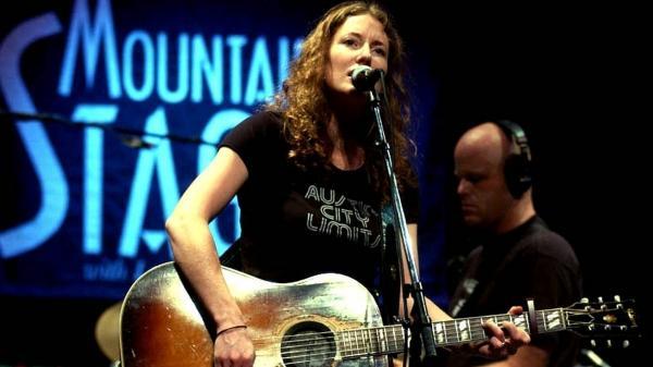 Kathleen Edwards performs on <em>Mountain Stage</em>.