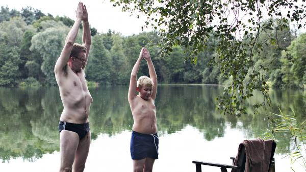 To prove his abilities as a father, Frank (Frank Hvam) takes his nephew Bo (Marcuz Jess Petersen) on what was planned as a no-wives-allowed canoe trip. <em>Klown </em>has already been picked up for an American remake, slated for 2013.<em></em>
