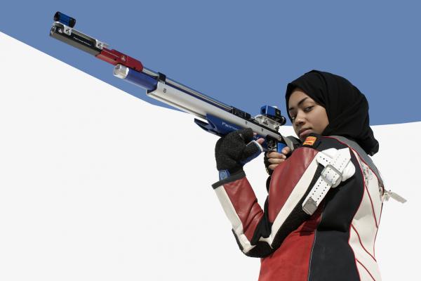Bahya Mansour Al-Hamad, shooting, Qatar