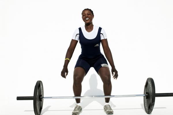 Ali'a Madani, weightlifting, Sudan