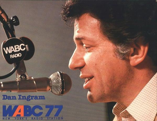 WABC's Dan Ingram in 1981.
