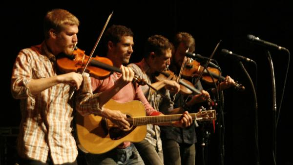Scythian on <em>Mountain Stage</em>.