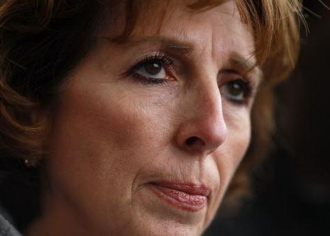 University of California, Davis, Chancellor Linda Katehi as she met with Occupy protesters Monday on campus.