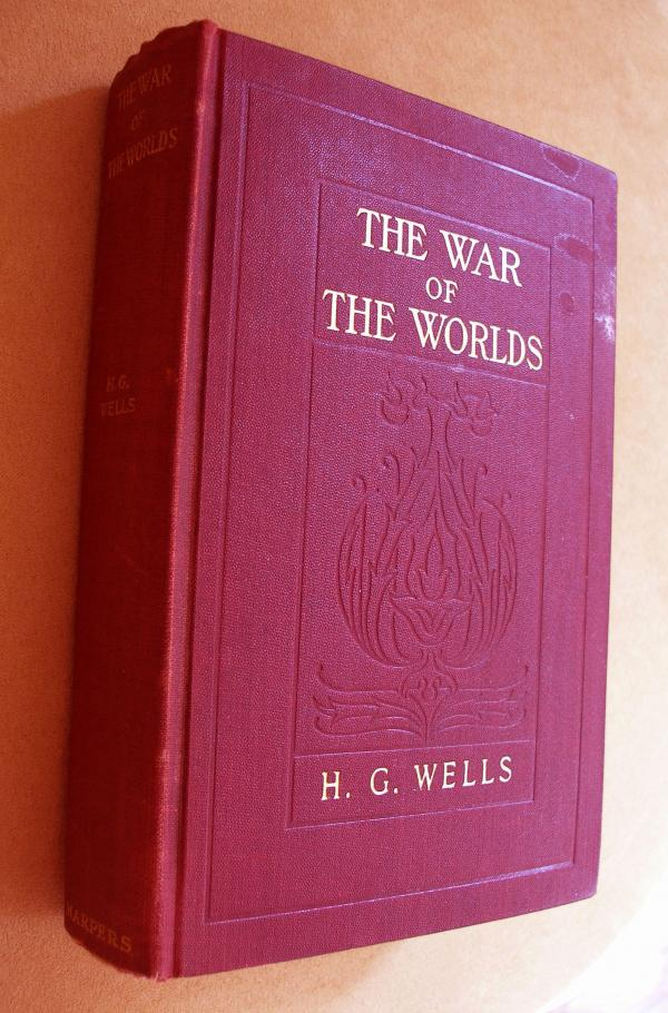 Rocket scientist Robert Goddard's Uncle Spud gave him this copy of <em>The War of the Worlds</em> in 1898. More than a hundred years later, it passed into the hands of essayist Amanda Katz.