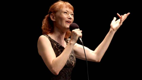 Ann Magnuson performs on <em>Mountain Stage</em>.