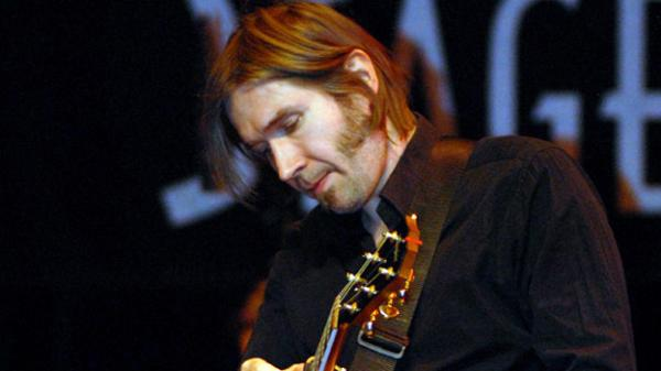 Justin Currie performs on <em>Mountain Stage</em>.