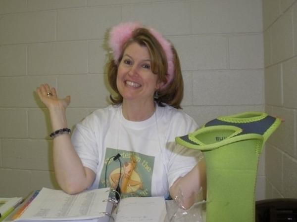 Tammy Jenkins is the medical coordinator for Camp Fantastic.