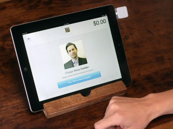 Square allows merchants to accept payments automatically from recognized registered customers.