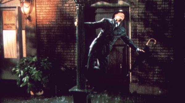 Gene Kelly stars as Don Lockwood in <em>Singin' in the Rain. </em>In celebration of the 1952 musical's 60th birthday, a newly restored print was released in theaters for a one-night public screening, and a new edition has been released on DVD and Blu-Ray.