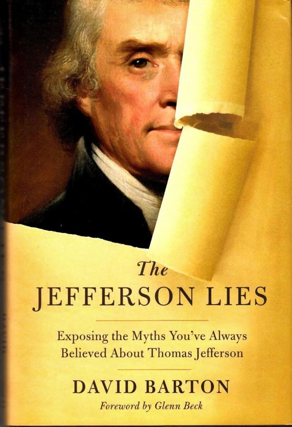 Cover art for <em>The Jefferson Lies</em>