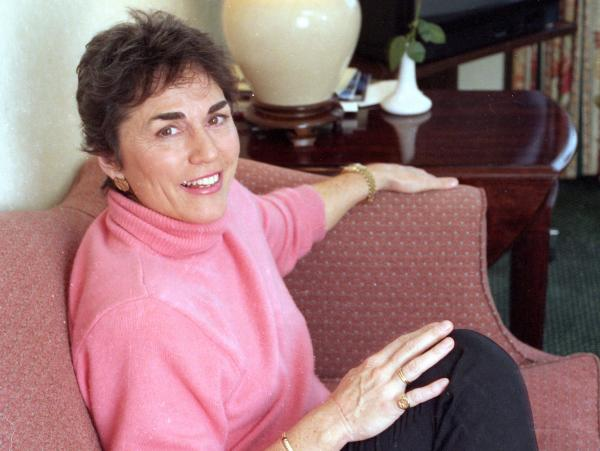 "Best-selling author Rita Mae Brown, pictured here in 1993, is know for her <em>""Sister"" Jane</em> and <em>Mrs. Murphy</em> mystery series."