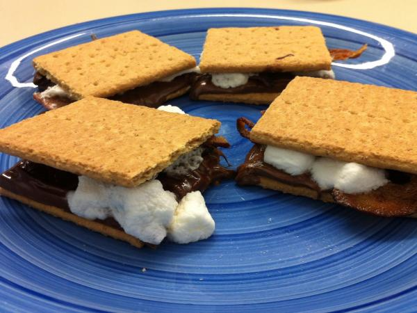 Bacon s'mores.