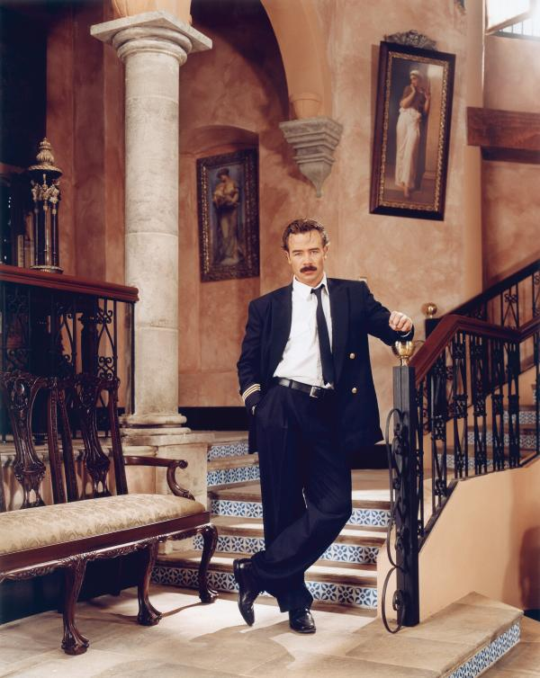 Sergio Sendel as Arturo Sandoval de Anda in <em>Amarte es mi Pecado</em> (<em>Loving You Is My Sin</em>), 2003, from <em>The Factory of Dreams</em> by Stefan Ruiz.
