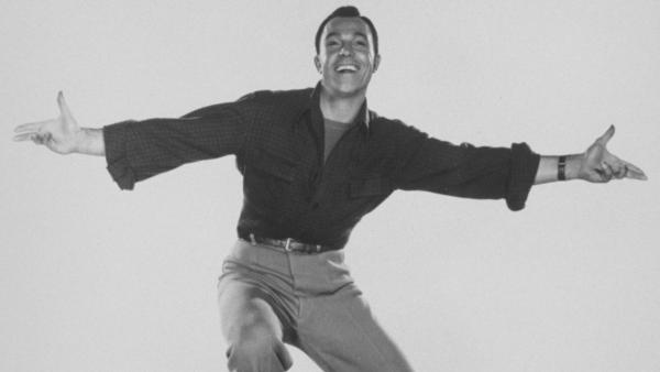 Blessed with athleticism and skill, actor-dancer Gene Kelly always managed to look like a regular guy having a lot of fun dancing.
