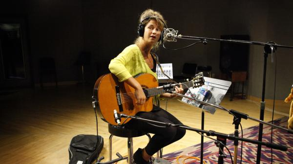 Selah Sue performs at NPR headquarters in Washington, D.C.