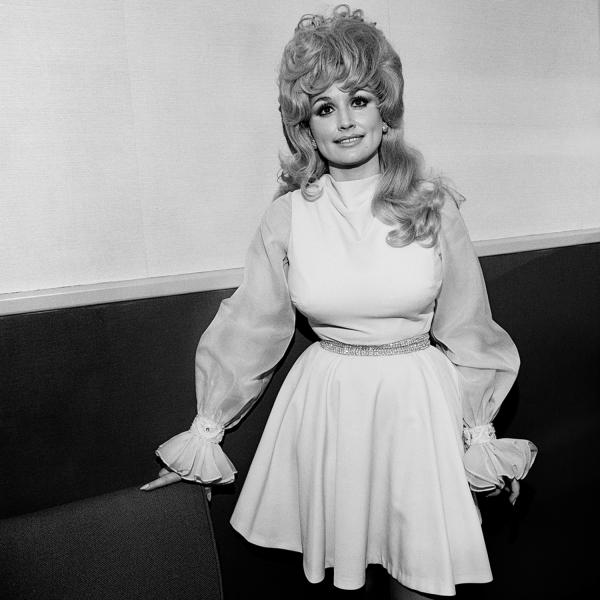 "<em>Dolly Parton,</em> Symphony Hall, Boston, 1972. ""Dolly Parton's first hit was 'Dumb Blonde' in 1967, but she soon proved she was anything but."""