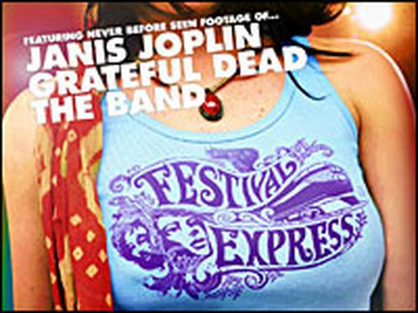Detail from the poster for 'Festival Express.'