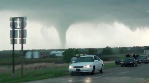 Emergency responders are running headlong into a growing phenomenon: roads bottled up by swarms of tornado chasers