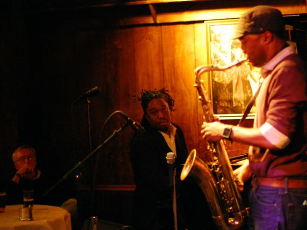 Pianist George Burton led a quintet, with Stacy Dillard on saxophones.