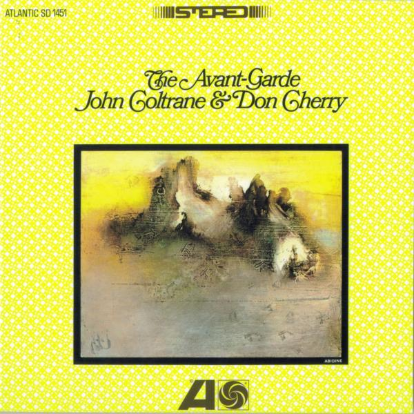 Cover art for <em>The Avant-Garde</em> by John Coltrane and Don Cherry.
