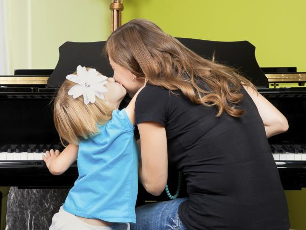 If your child's happy and she knows it, then her practice time will surely show it.