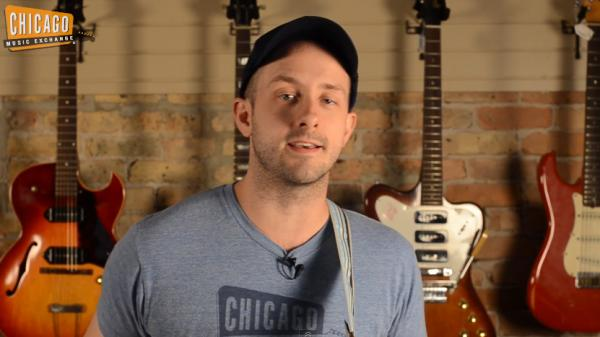 Alex Chadwick, an employee of the Chicago Music Exchange, recorded a 12-minute video that chronicles the history of rock in one take and 100 songs.