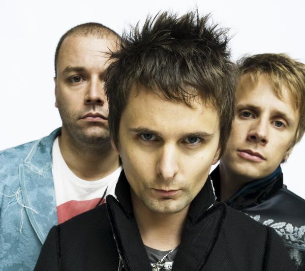 Muse: (from left) Chris Wolstenholme, Matt Bellamy and Dominic Howard.