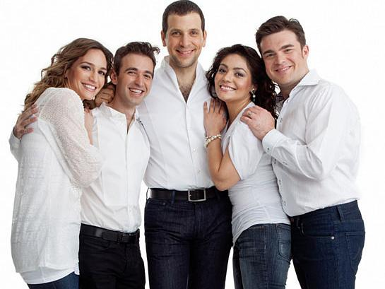 "Appearing in this month's edition of <em>Opera News</em> are a few of opera's ""next wave"" of fresh faces (from left): Kate Lindsey, Anthony Roth Costanzo, Luca Pisaroni, Ailyn Perez and Michael Christie."