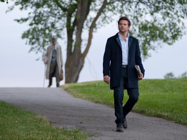 Awash in unearned success, Rory encounters an Old Man (Jeremy Irons), his smash hit's true author, in a park.