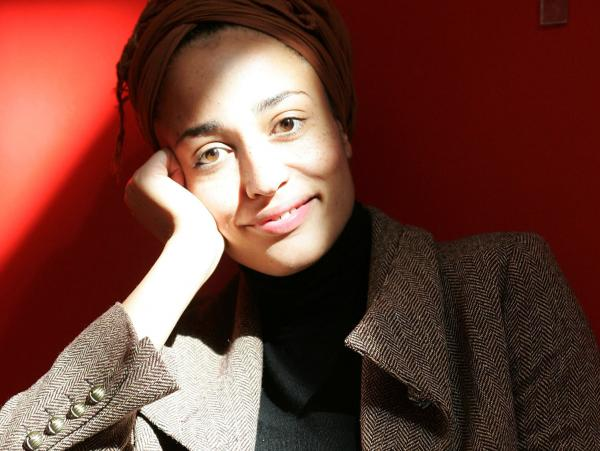 British author Zadie Smith in 2005.