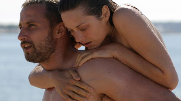Matthias Schoenaerts and Marion Cotillard star in <em>Rust & Bone</em>.