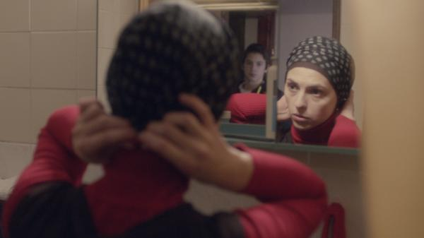 Marija Pikic plays Rahima, who's trying to keep her brother safe in <em>Children Of Sarajevo</em>.