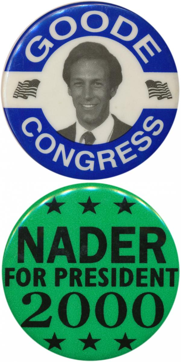 With former congressman Virgil Goode on the ballot in Virginia, could he be Mitt Romney's Nader?