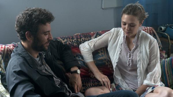 Emotionally stunted Jesse (Josh Radnor) forms a relationship with Zibby (Elizabeth Olsen), a much younger woman, in <em>Liberal Arts</em>.