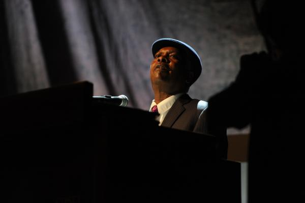 Booker T. Jones opens the show.