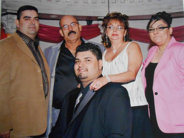 "Samantha Moreno, in pink, with her family. ""The hardest part of coming out is to know that you're about to hurt someone that you love,"" she says <a href=""http://youtu.be/K2FQER7c3vU"">in a video</a> featured on the <a href=""http://familiaesfamilia.org/talk/video/"">website of Familia es Familia</a>, which aims to help Latino families accept their LGBT loved ones."