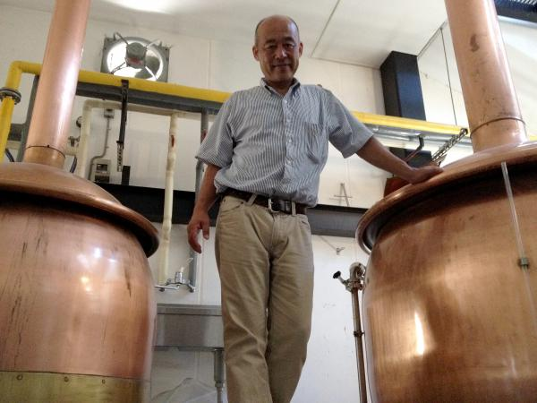 To make beer, the Kiuchi Brewery is using equipment that once was used for sake.