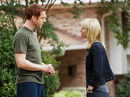 <em>Homeland</em>'s central conflict involves Mathison's suspicions about whether former POW Nicholas Brody (Damian Lewis) is secretly an al-Quaida mole.