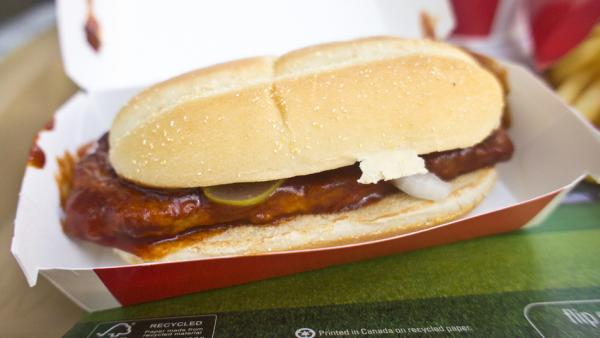 McDonald's plans to delay the return of the seasonal McRib sandwich in the hopes it can help boost late winter sales.