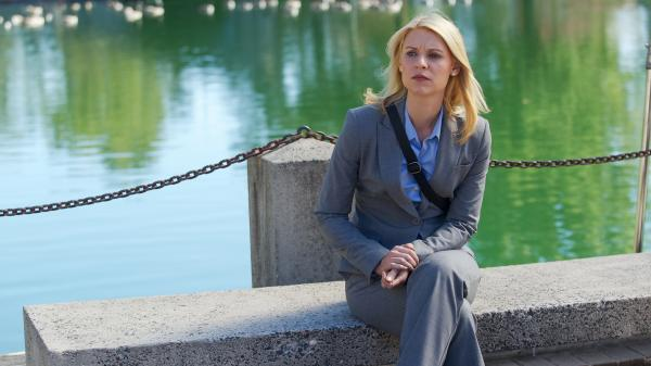 Claire Danes plays Carrie Mathison in Showtime's <em>Homeland</em>. The second season premieres on Sept. 30.