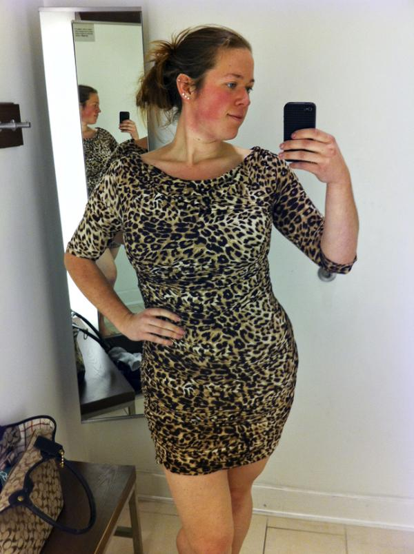 No. 96 (Leopard Dress)