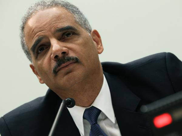 Attorney General Eric Holder testifies during a House Judiciary Committee hearing in Washington, D.C., in June.