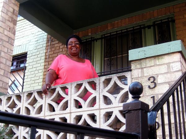 Mechelle Baylor's home in the Shaw area of Washington, D.C., has been in her family since 1929. She says she's seen her neighborhood change a lot as her neighbors move out and higher-income earners move in.