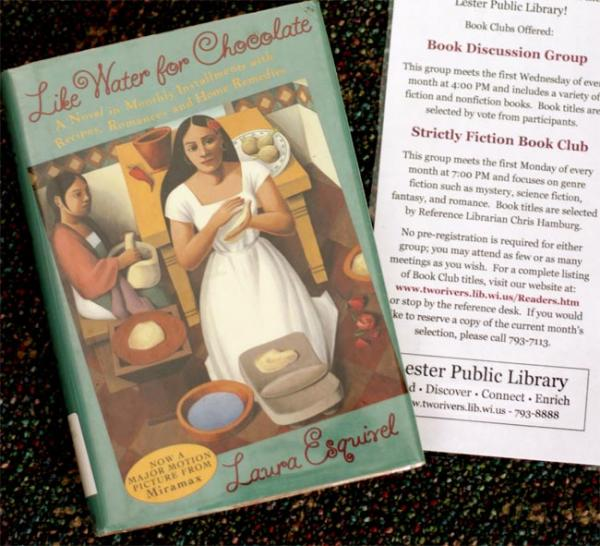 """Like Water for Chocolate"" has become a contemporary classic of Latin American literature, but has drawn complaints from some school districts in Wisconsin, Arizona and now Idaho. Photo by Lester Public Library via Flickr"