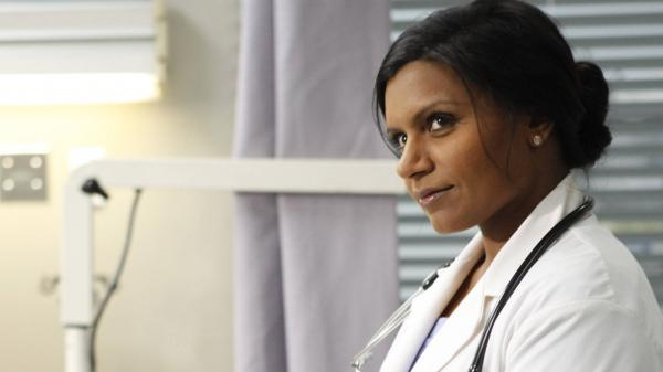 Mindy (Mindy Kaling) is an OB/GYN in Fox's new comedy, <em>The Mindy Project</em>.