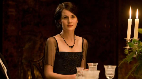 Michelle Dockery as Lady Mary: As <em>Downton Abbey</em> viewers know, dining in fine style was de rigueur in Edwardian England.